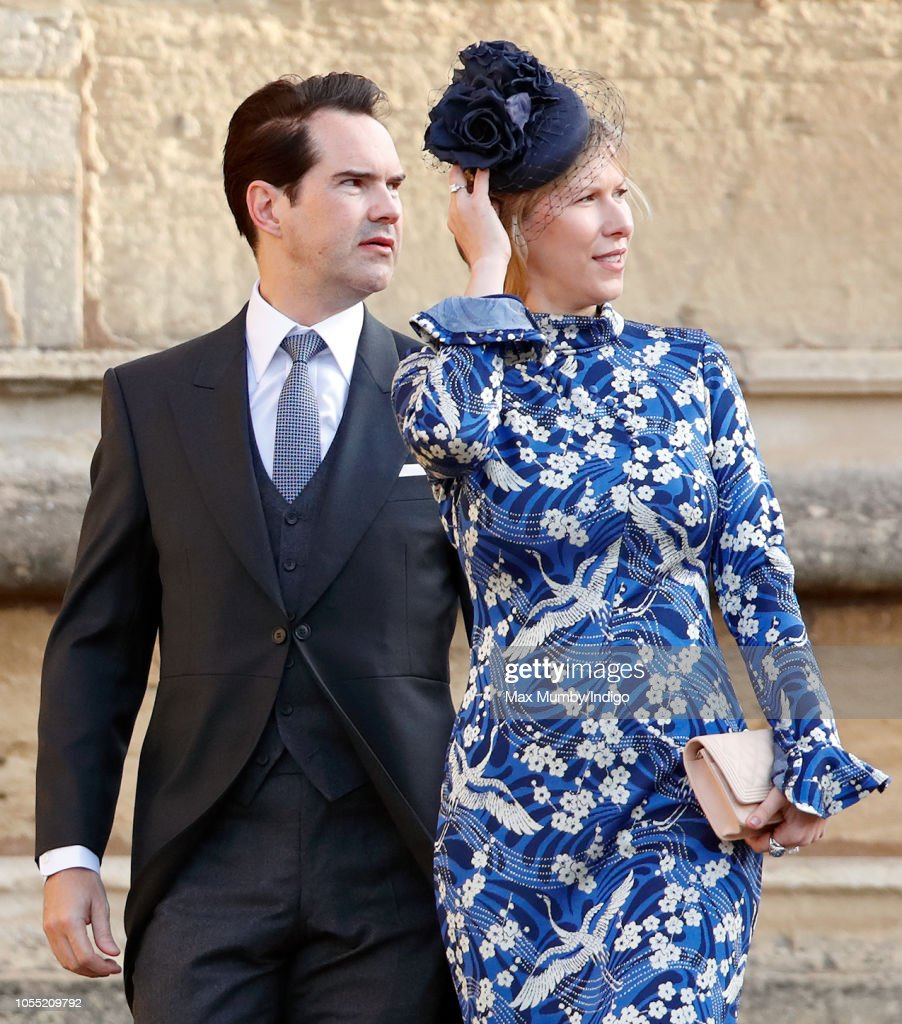Jimmy Carr And Karoline Copping Attend The Wedding Of Princess News Photo Getty Images Ahead of princess eugenie's wedding, it's your classic cloudy day at windsor castle today (hey, they say that's good luck). https www gettyimages com detail news photo jimmy carr and karoline copping attend the wedding of news photo 1055209792