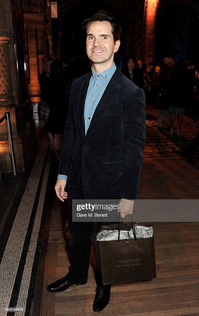 Jimmy Carr attends an after party following the press night performance of 'The Book of Mormon' at the Natural History Museum on March 21, 2013 in London, England.