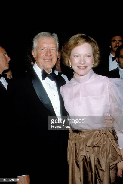 Jimmy Carter and Rosalynn Carter circa 1980 in New York.
