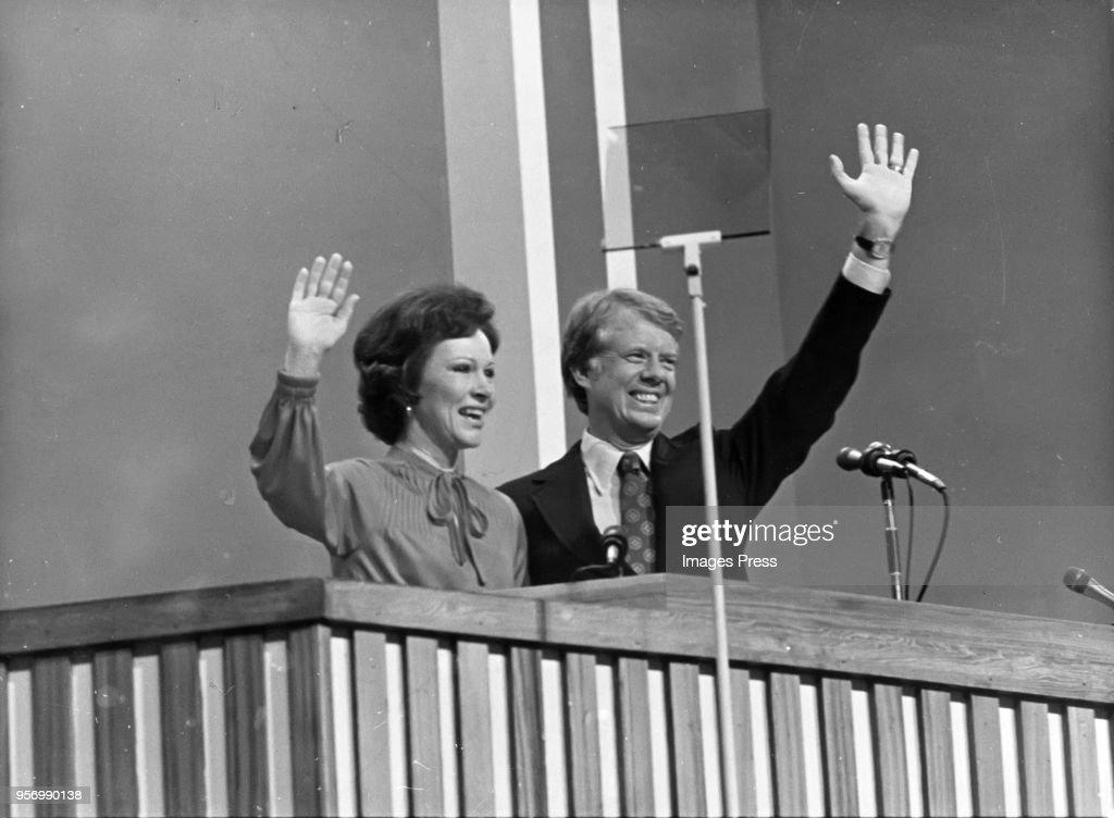 Rosalynn Carter and Jimmy Carter : News Photo