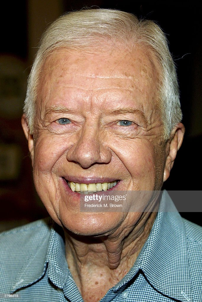 "Jimmy Carter Signs Copies Of ""The Hornet's Nest"""