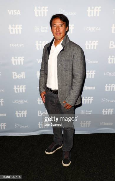 """Jimmy Chin at the 2018 Toronto Film Festival Premiere of National Geographic Documentary Films' """"Free Solo"""""""