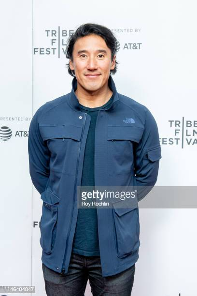 Jimmy Chin attends a screening of Maiden during the 2019 Tribeca Film Festival at Village East Cinema on May 01 2019 in New York City