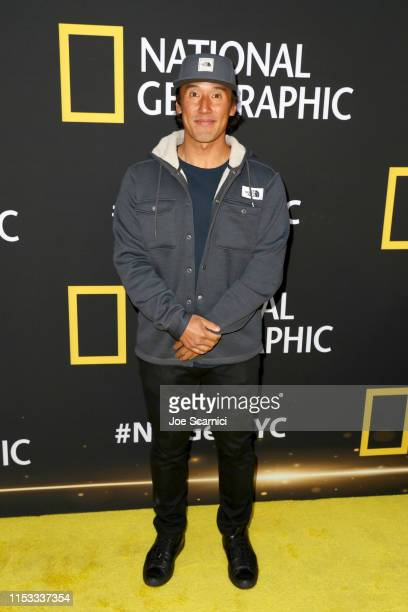 Jimmy Chin attends National Geographic's Contenders Showcase at The Greek Theatre a oneofakind outdoor experience and concert celebrating the talent...