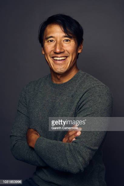 Jimmy Chin from the film 'Free Solo' poses for a portrait during the 2018 Toronto International Film Festival at Intercontinental Hotel on September...