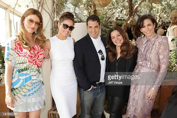 Jimmy Choo Director of Entertainment Relations Sara Riff Stylists Mariel Haenn Rob Zangardi Deborah Waknin and Cristina Ehrlich attend the The...