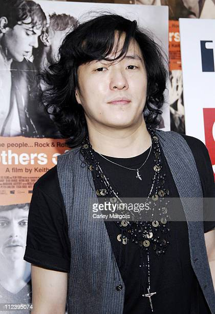 Jimmy Choo during Brothers of the Head New York Premiere at IFC Theater in New York City New York United States