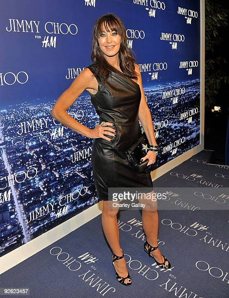 Jimmy Choo Founder and President Tamara Mellon arrives at the Jimmy Choo for HM Collection private event in support of the Motion Picture Television...
