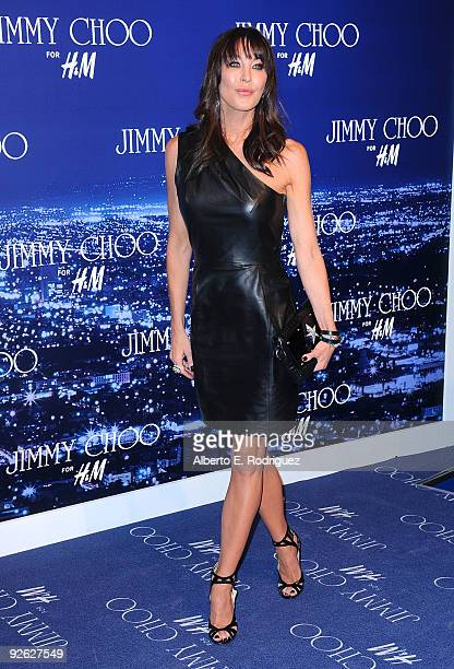 83f3029d7c7f Jimmy Choo founder Tamara Mellon arrives at the Jimmy Choo for HM  Collection private event in