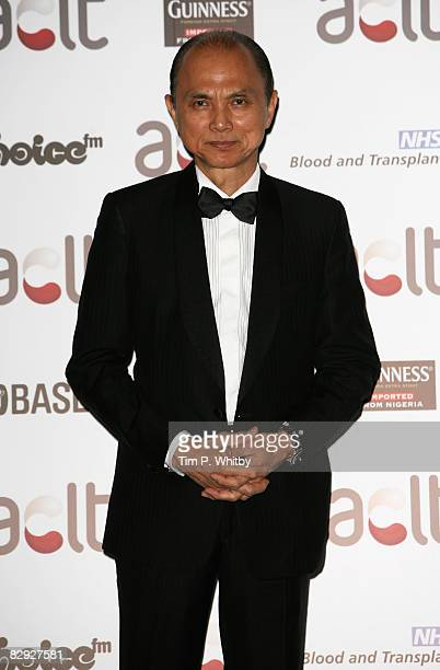 Jimmy Choo poses for a photo as he arrives for the Gift of Life IX Charity Ball at the Intercontiental Hotel on September 20 2008 in London England