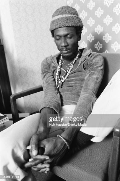 Jimmy Cliff interviewed at a Hotel March 1978 Tokyo Japan