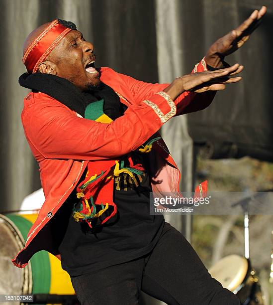 Jimmy Cliff performs as part of KFOG's Harmony By the Bay at Shoreline Amphitheatre on September 29 2012 in Mountain View California