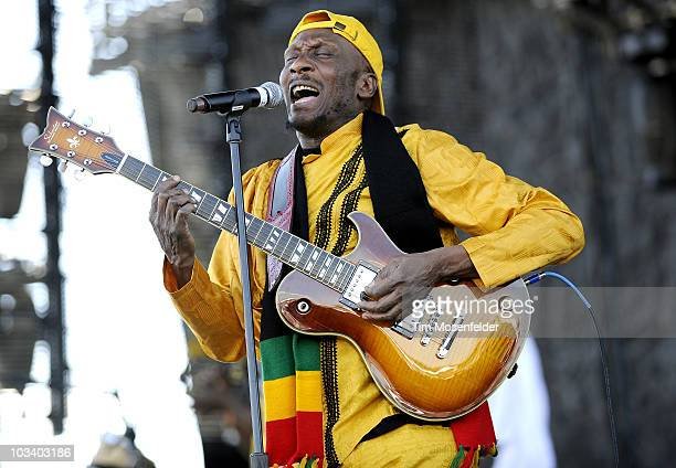 Jimmy Cliff performs as part of the Mile High Music Festival at Dick's Sporting Good's Park on August 15 2010 in Commerce City Colorado