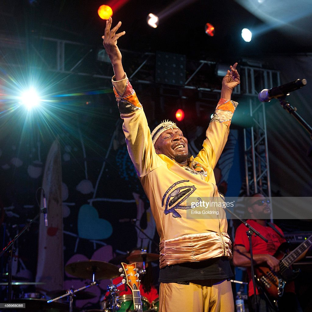 Jimmy Cliff performs at Stubb's on October 9, 2014 in Austin, Texas.