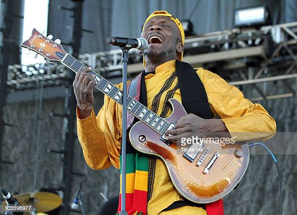 Jimmy Cliff performs at the 2010 Mile High Music Festival at Dick's Sporting Goods Park on August 15, 2010 in Commerce City, Colorado.