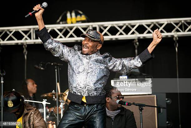 Jimmy Cliff performs at the Wickerman festival at Dundrennan on July 25, 2015 in Dumfries, Scotland.