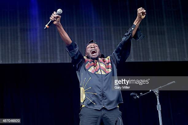 Jimmy Cliff performs during the first day of the second weekend of the Austin City Limits Music Festival at Zilker Park on October 10 2014 in Austin...