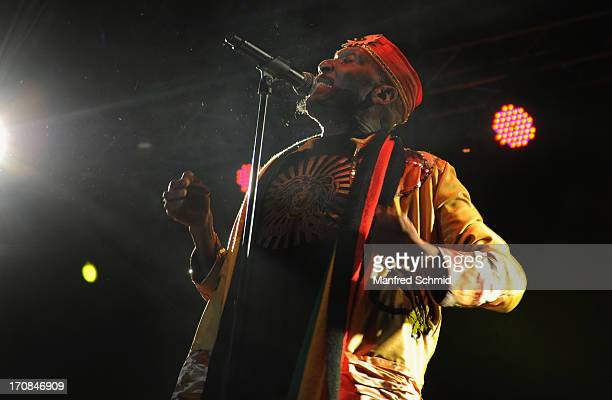 Jimmy Cliff performs on stage during the Purkersdorfer Open Air Sommer on June 15 2013 in Purkersdorf Austria