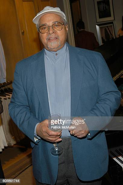 Jimmy Cobb attends BERGDORF GOODMAN and BRIONI Launch Party for Marsalis Music Honors Series at Bergdorf Goodman on April 19 2006 in New York City