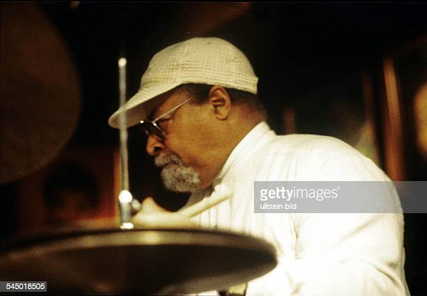Jimmy Cobb Musician Drummer Jazz USA performing