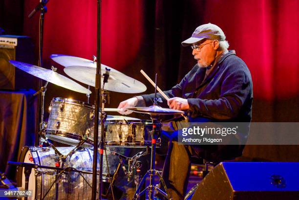 Jimmy Cobb of Jazz By 5 performs on stage at Revolution Hall as part of the PDX Jazz Festival in Portland Oregon USA on 25th February 2018