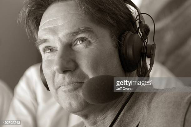 Jimmy Connors a former Wimbledon champion seen in the BBC commentary box at Centre Court Jimmy Connors is part of the BBC Sport commentary team at...