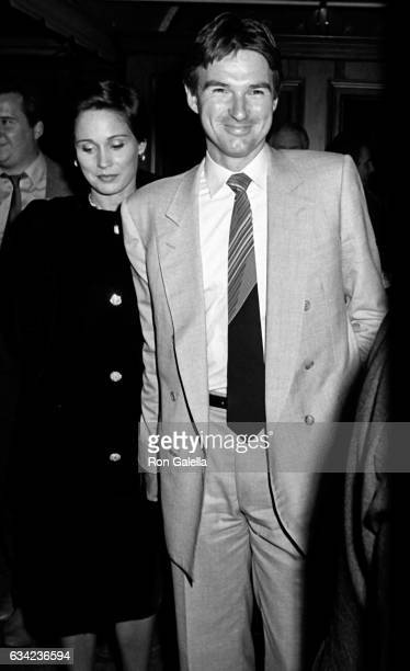 Jimmy Connors and Patti McGuire attend Santa Clause The Movie Premiere Party on November 20 1985 at Tavern on the Green in New York City
