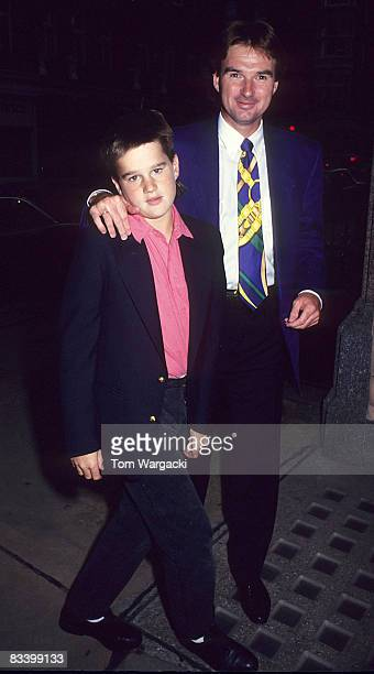 39 Jimmy Connors And Son Brett    Pictures, Photos & Images