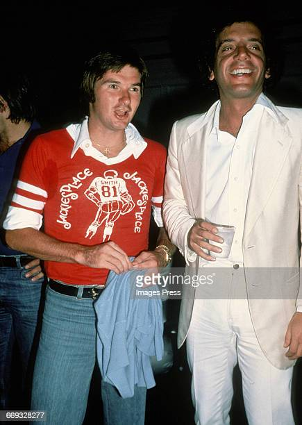 Jimmy Connors and Steve Rubell circa 1979 in New York City