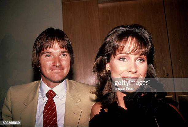 Jimmy Connors and wife Patti McGuire circa 1982 in New York City