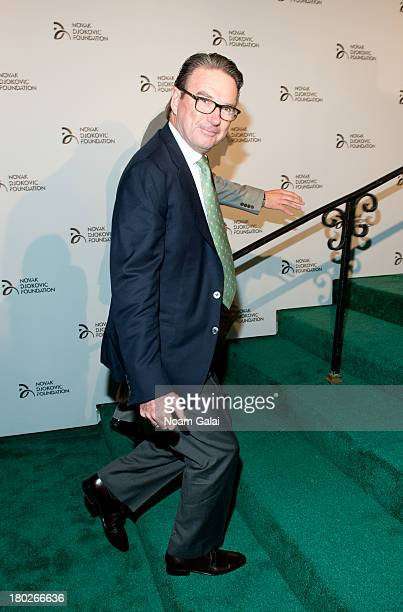 Jimmy Connors attends the The 2013 Novak Djokovic Benefit Dinner at Capitale on September 10 2013 in New York City