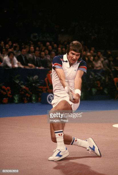 Jimmy Connors on court circa the 1970s