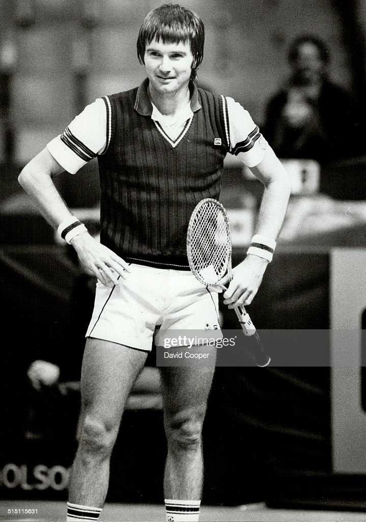 Jimmy Connors Tennis - action shots 1980 - 1982... : News Photo