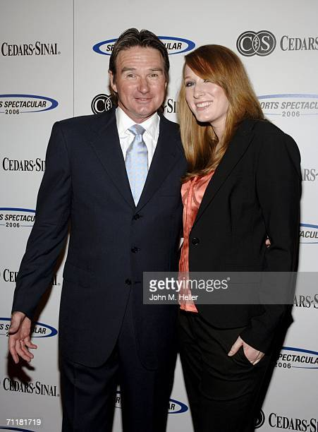Jimmy Connors tonight's honoree and Aubree Leigh Connors arrives at the CedarsSinai Medical Center's 21st Annual Sports Spectacular at the Hyatt...