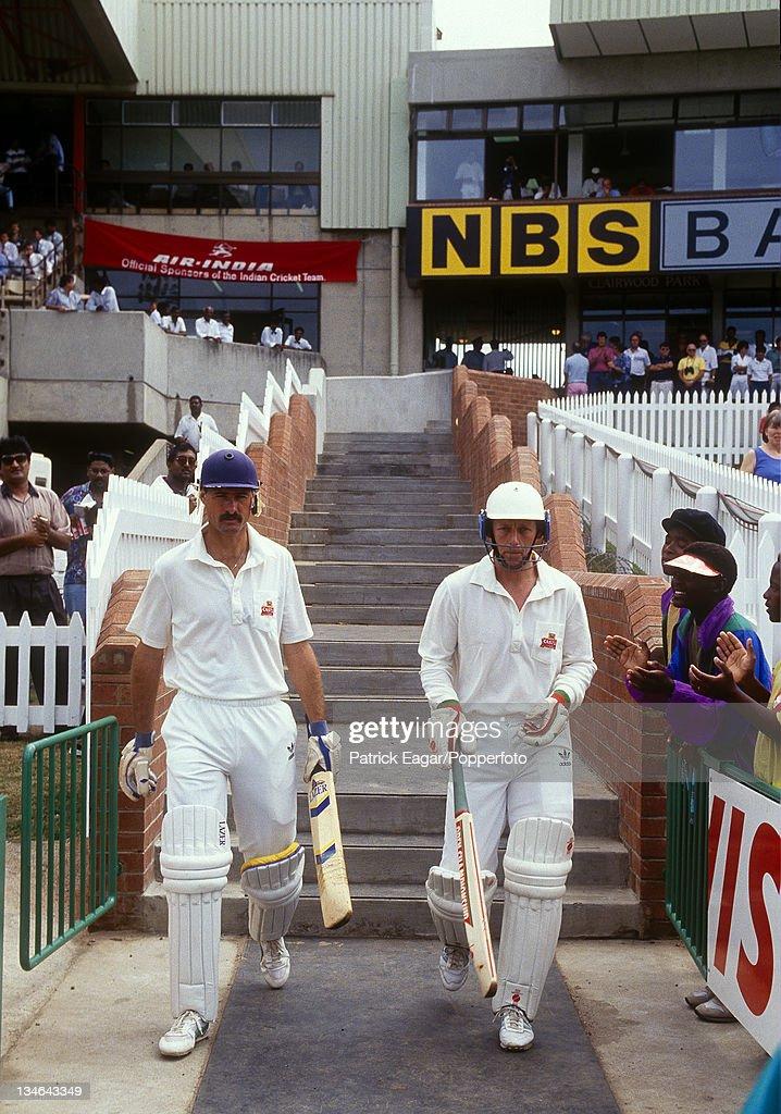 South Africa v India, 1st Test, Durban, Nov 92 : News Photo