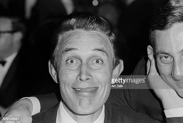 Jimmy Dean making a funny face circa 1970 New York