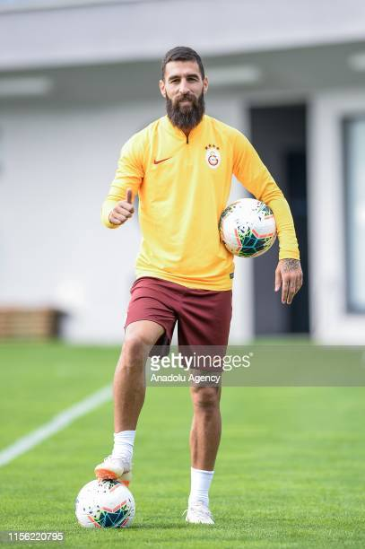 Jimmy Durmaz of Galatasaray poses for a photo at a training session in Seefeld, Austria on July 18, 2019.