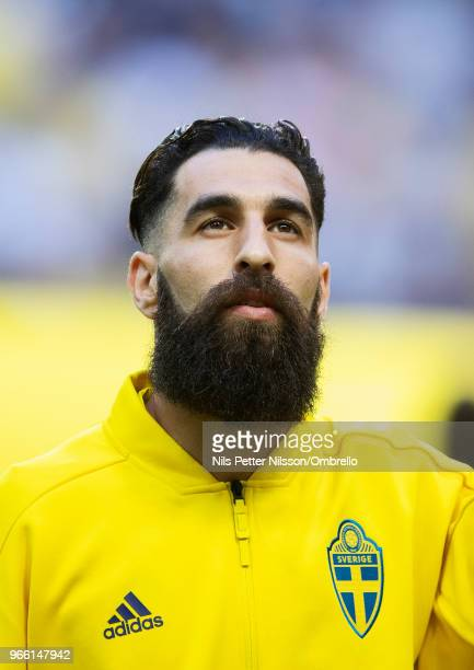 Jimmy Durmaz of Sweden ahead of the International Friendly match between Sweden and Denmark at Friends Arena on June 2 2018 in Solna Sweden
