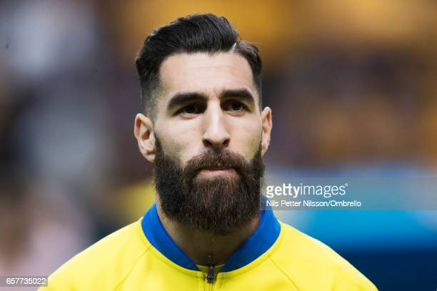 Jimmy Durmaz of Sweden during the FIFA 2018 World Cup Qualifier between Sweden and Belarus at Friends arena on March 25, 2017 in Solna, .