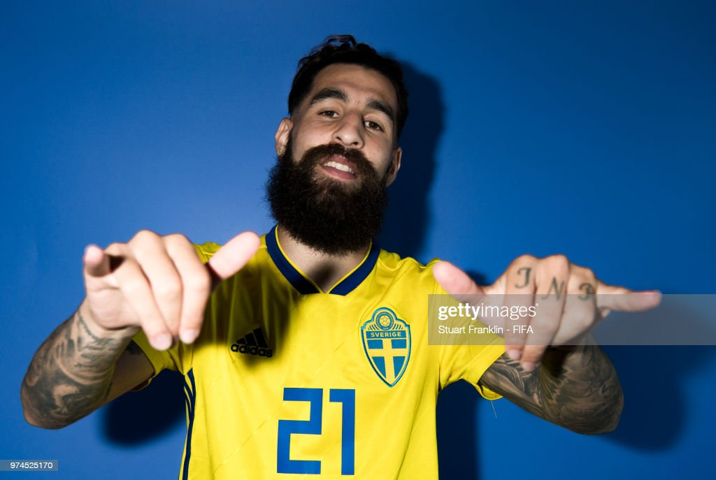 Sweden Portraits - 2018 FIFA World Cup Russia : News Photo