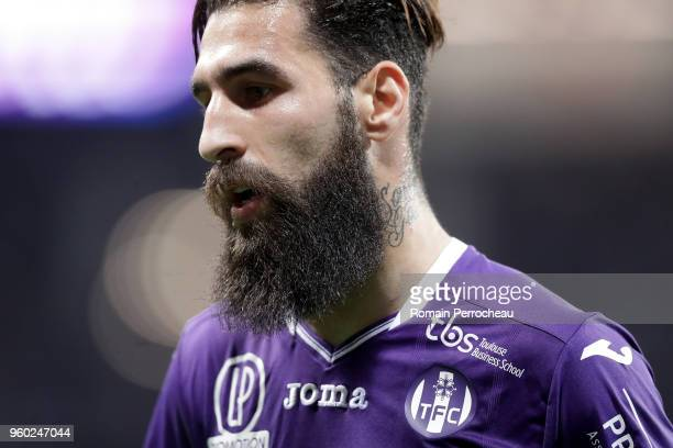 Jimmy Durmaz of Toulouse looks on during the Ligue 1 match between Toulouse and EA Guingamp at Stadium Municipal on May 19 2018 in Toulouse
