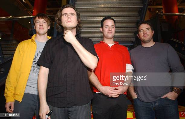 Jimmy Eat World during Jimmy Eat World InStore Performance and Album Signing at Virgin Megastore in London March 21 2005 at Virgin Megastore in...