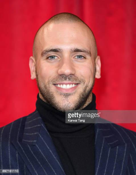 Jimmy Essex attends the British Soap Awards at The Lowry Theatre on June 3 2017 in Manchester England