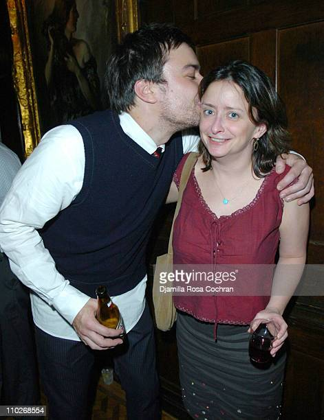 Jimmy Fallon and Rachel Dratch during Jimmy Fallon's Birthday Party - September 24, 2005 at The National Arts Club in New York City, New York, United...