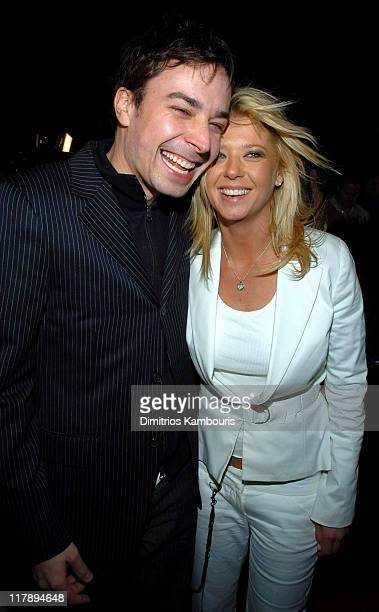 Jimmy Fallon and Tara Reid during Playboy's Annual Super Saturday Night Event Brings 'Heaven and Hell' to Houston at Corinthian in Houston Texas...
