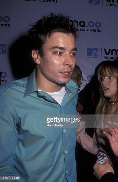 Jimmy Fallon attends 17th Annual MTV Video Music Awards on September 7 2000 at Radio City Music Hall in New York City