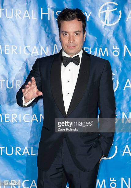 Jimmy Fallon attends The 2012 Museum of Natural History Gala at American Museum of Natural History on November 15 2012 in New York City