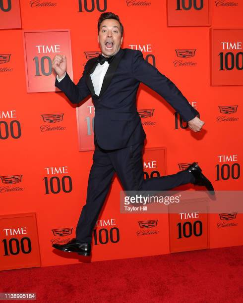 Jimmy Fallon attends the 2019 Time 100 Gala at Frederick P Rose Hall Jazz at Lincoln Center on April 23 2019 in New York City