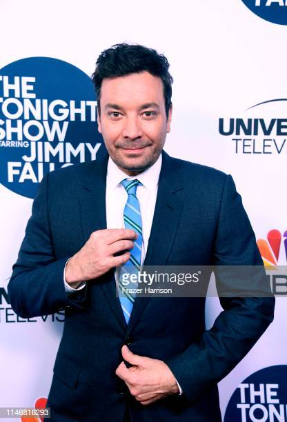 """Jimmy Fallon attends the FYC Event For NBC's """"The Tonight Show Starring Jimmy Fallon"""" at The WGA Theater on May 03, 2019 in Beverly Hills, California."""