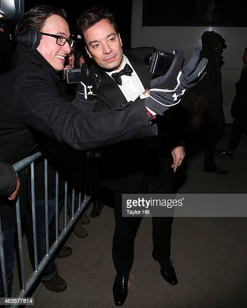 Jimmy Fallon attends the Saturday Night Live 40th Anniversary Celebration After Party at The Plaza Hotel on February 15 2015 in New York City